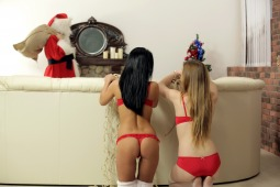 Santa's Wet Treat photo #1